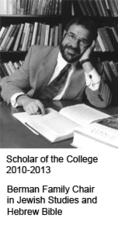 Bernard M. Levinson | Scholar of the College, Berman Family Chair in Jewish Studies and Hebrew Bible